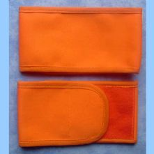 Plain Wrap Armband - Orange